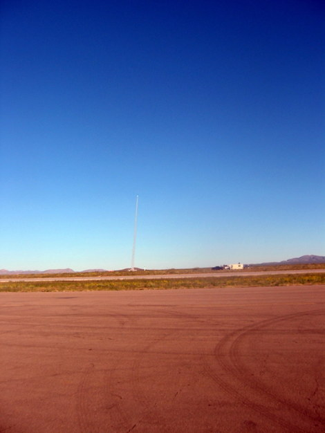 A Tripoli Rocketry Association small rocket launch at the 2006 X Prize Cup