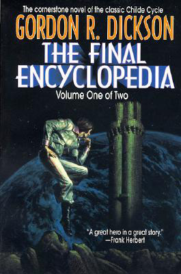 Cover of Gordon Dickson's Final Encyclopedia novel